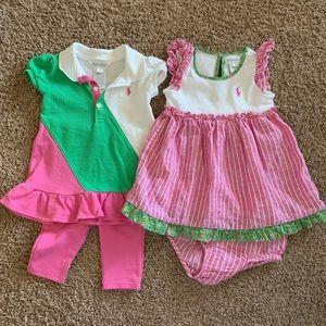Two (2) Ralph Lauren Dresses / Sets
